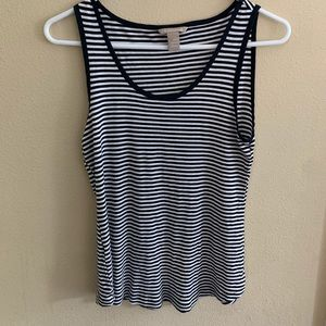 Banana Republic Striped Tank Top! Size XS